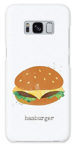 Summer Galaxy Case - Hamburger by Linda Woods