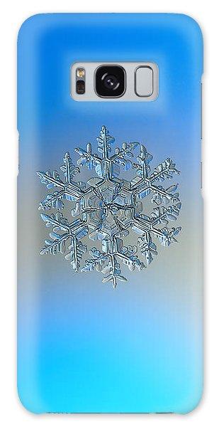 Snowflake Photo - Gardener's Dream Galaxy Case by Alexey Kljatov