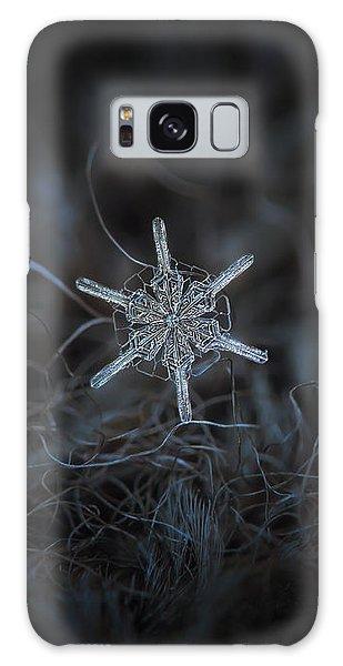 Snowflake Photo - Steering Wheel Galaxy Case