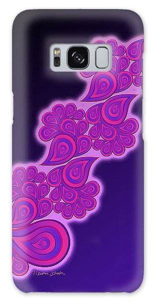 Crying Cotton Candy Galaxy Case