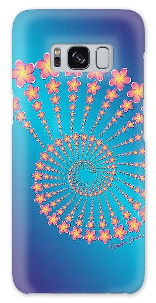 Denise's Frangipani  Spiral Shell Galaxy Case
