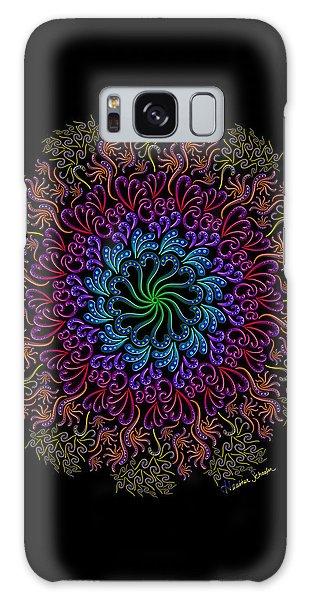 Splendid Spotted Swirls Galaxy Case