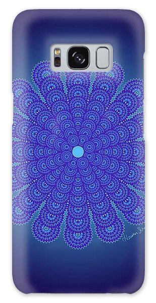 Blue Obsession Galaxy Case