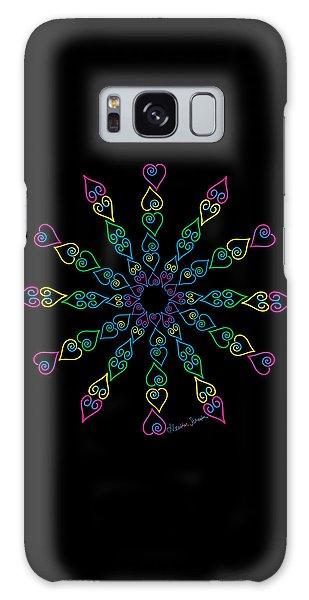 My Heart Flip Flops Galaxy Case