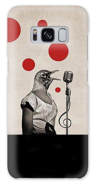 Song Bird Galaxy Case - Animal16 by Francois Brumas