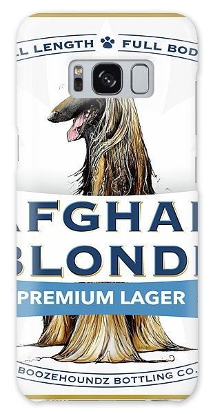 Afghan Blonde Premium Lager Galaxy Case