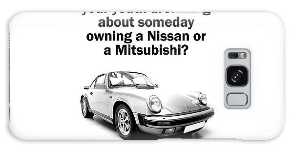 Sports Car Galaxy Case - Dreaming Of A Porsche by Mark Rogan