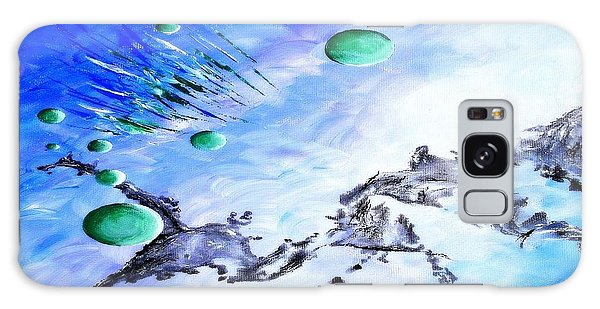 Strange Clouds Galaxy Case - Retract by Andrew Cravello
