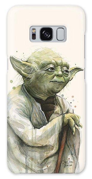 Nerd Galaxy Case - Yoda Portrait by Olga Shvartsur