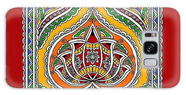 Madhubani Galaxy Case - Lotus In Mithila  by Nupur Nishith