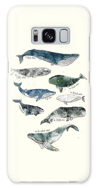 Wildlife Galaxy Case - Whales by Amy Hamilton
