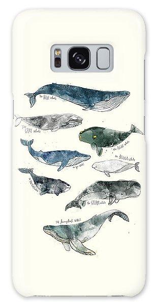 Wild Animals Galaxy Case - Whales by Amy Hamilton