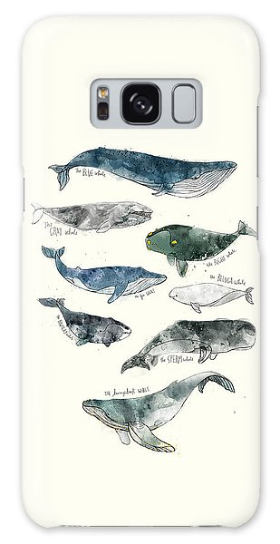 Summer Galaxy Case - Whales by Amy Hamilton