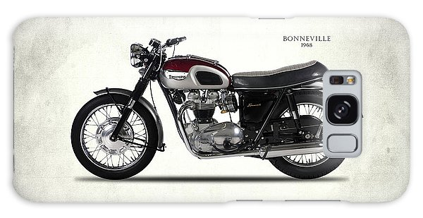 Old Galaxy Case - Triumph Bonneville T120 1968 by Mark Rogan