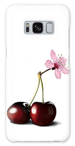 Cherry Blossom Galaxy Case