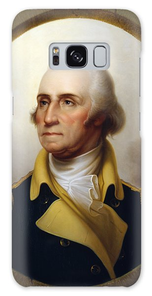Heroes Galaxy Case - General Washington - Porthole Portrait  by War Is Hell Store