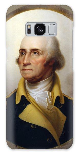 Hero Galaxy Case - General Washington - Porthole Portrait  by War Is Hell Store