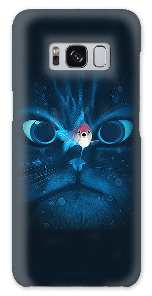 Cat Fish Galaxy Case