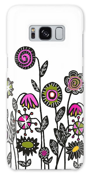 Hippie Garden Galaxy Case by Lisa Weedn
