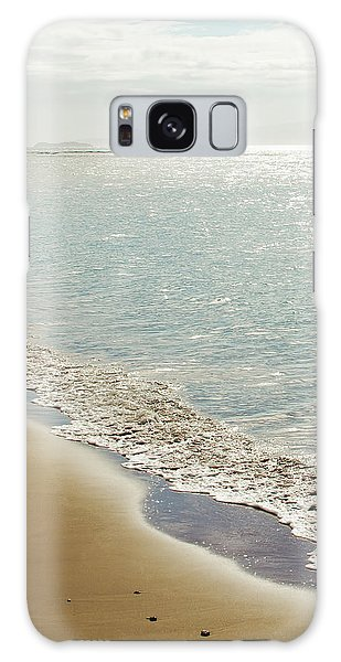 Galaxy Case featuring the photograph Beauty And The Beach by Sharon Mau