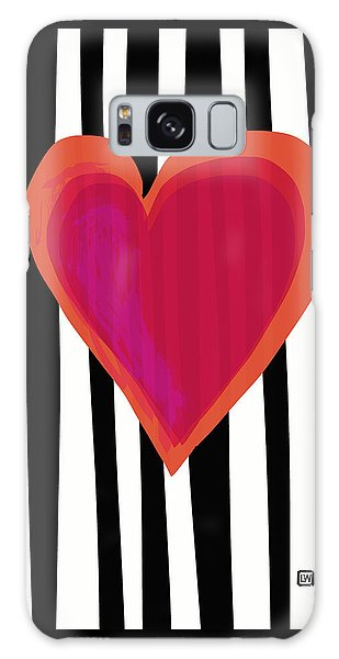 Galaxy Case featuring the painting Here Is My Heart by Lisa Weedn
