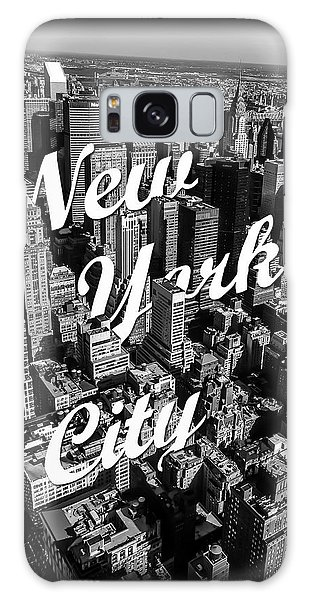 Building Galaxy Case - New York City by Nicklas Gustafsson