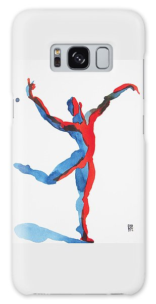 Ballet Dancer 3 Gesturing Galaxy Case