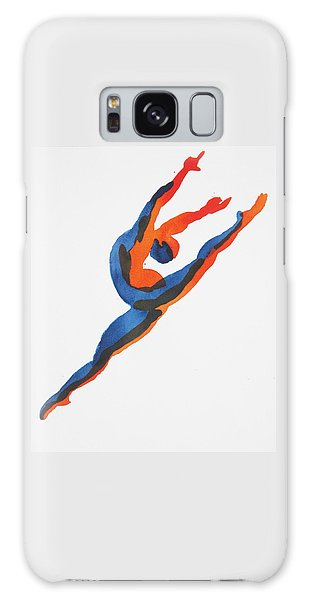 Ballet Dancer 2 Leaping Galaxy Case