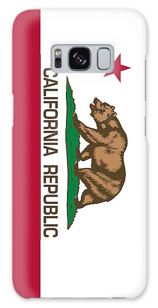 California Republic State Flag Authentic Version Galaxy Case