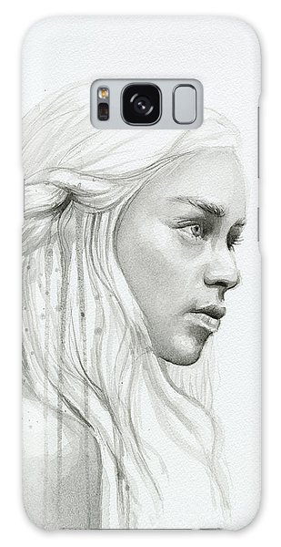 Dragon Galaxy S8 Case - Daenerys Mother Of Dragons by Olga Shvartsur
