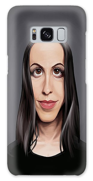 Celebrity Sunday - Alanis Morissette Galaxy Case
