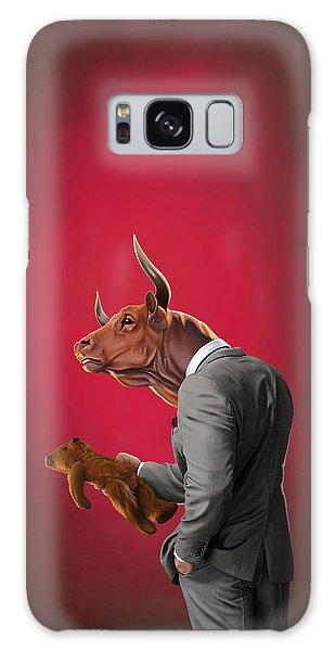 Bull Galaxy Case by Rob Snow