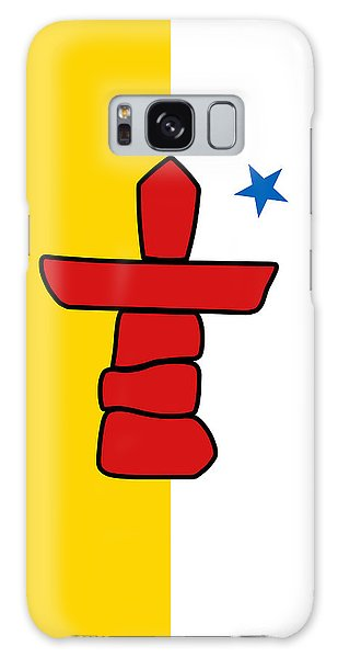 Flag Of Nunavut High Quality Authentic Hd Version Galaxy Case