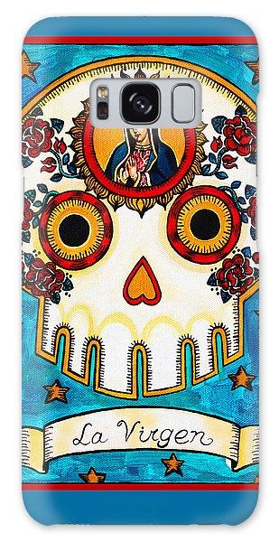 Calavera Galaxy Case - La Virgen - The Virgin by Mix Luera