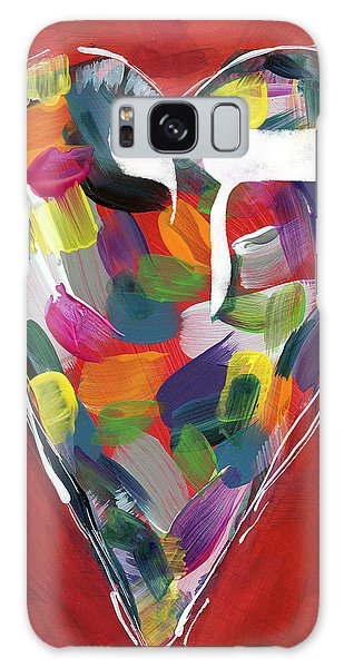 Heart Galaxy Case - Life Is Colorful - Art By Linda Woods by Linda Woods