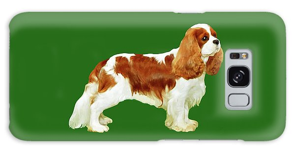Cavalier King Charles Spaniel Galaxy Case by Marian Cates