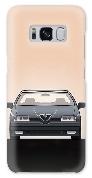 Front Galaxy Case - Modern Euro Icons Series Alfa Romeo 164 Quadrifoglio Q4 by Monkey Crisis On Mars