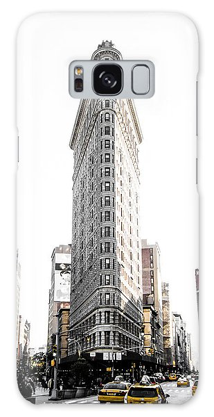 Street Galaxy Case - Desaturated New York by Nicklas Gustafsson