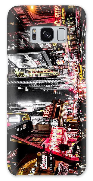 Neon Galaxy Case - New York City Night II by Nicklas Gustafsson
