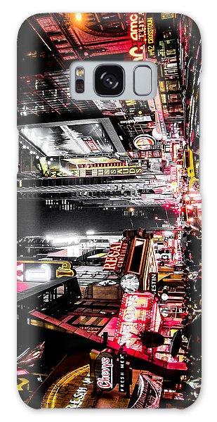 Square Galaxy Case - New York City Night II by Nicklas Gustafsson