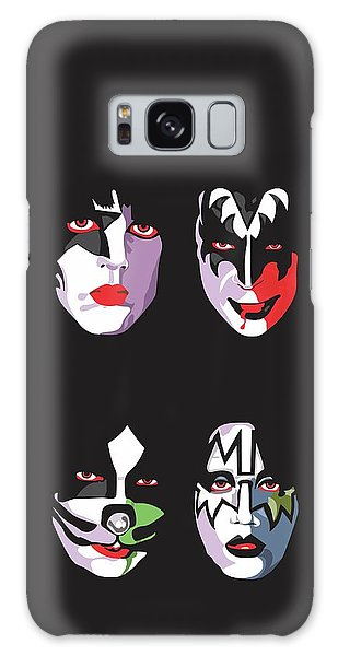 Music Galaxy S8 Case - Kiss by Troy Arthur Graphics