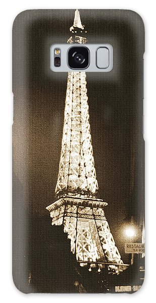 Weathered Galaxy Case - Postcard From Paris- Art By Linda Woods by Linda Woods