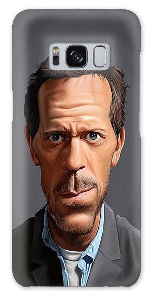 Celebrity Sunday - Hugh Laurie Galaxy Case