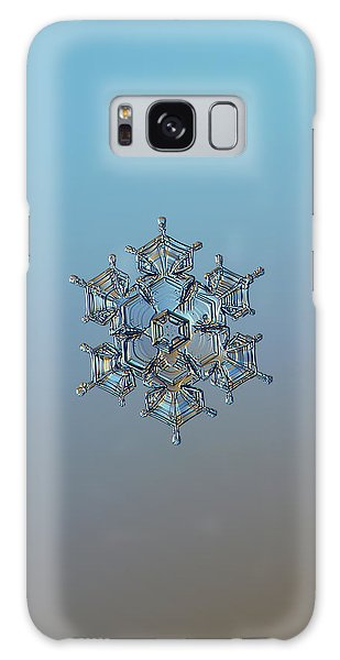 Snowflake Photo - Flying Castle Galaxy Case