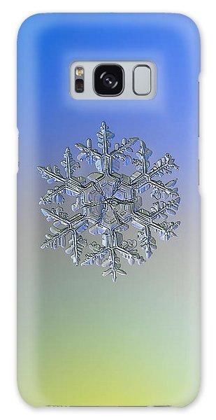 Snowflake Photo - Gardener's Dream Alternate Galaxy Case