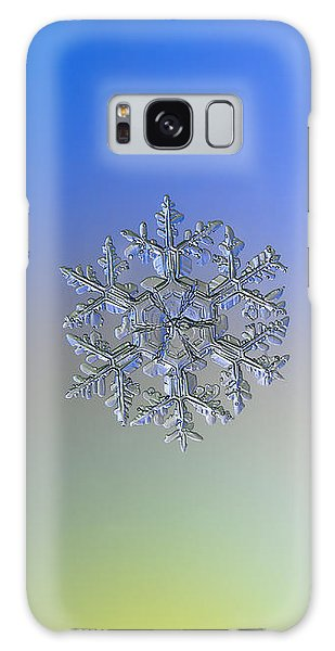 Snowflake Photo - Gardener's Dream Alternate Galaxy Case