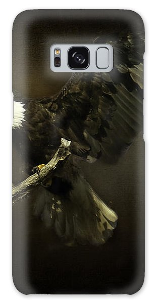 Under His Wings Galaxy Case by Eleanor Abramson