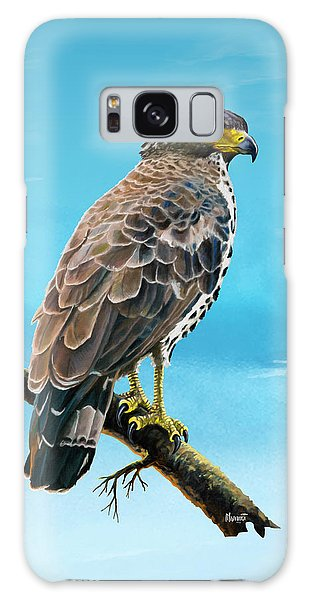 Congo Serpent Eagle Galaxy Case by Anthony Mwangi