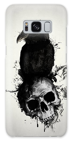 Raven And Skull Galaxy Case