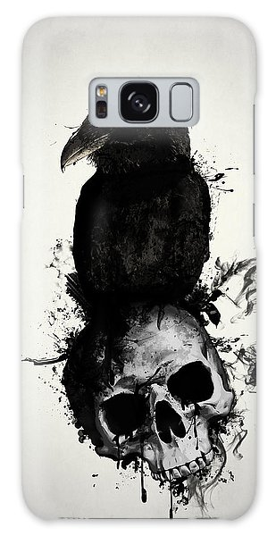 Mythology Galaxy Case - Raven And Skull by Nicklas Gustafsson